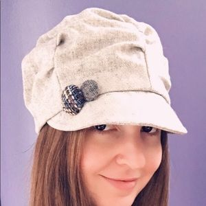 San Diego Hat Co. Gray Wool Cabby Hat